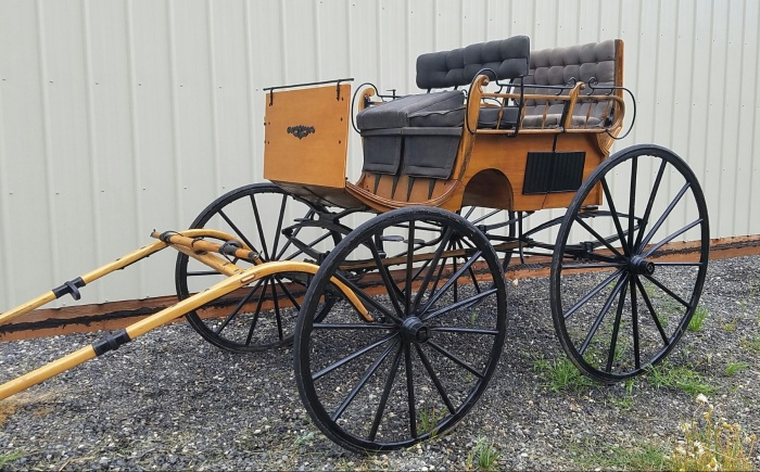 4 wheel 4 passenger Phaeton Trap