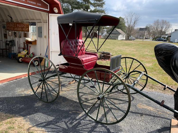 Estate Sale Amish Restored Doctors Carriage